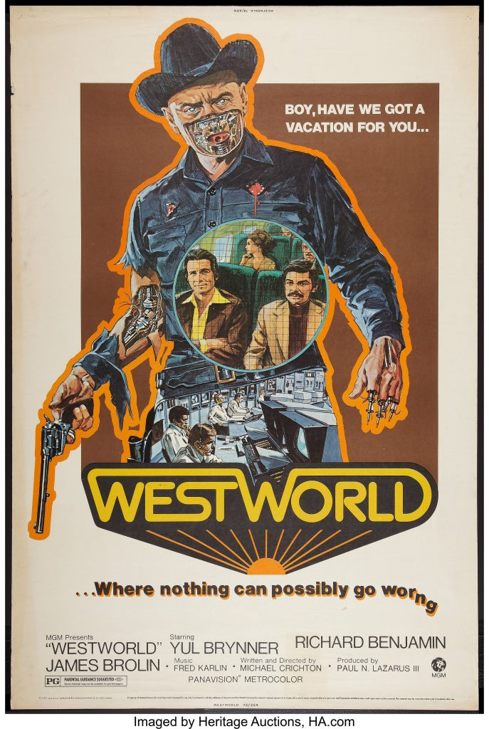 Movie Posters - Westworld (MGM, 1973)