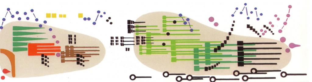 György Ligeti's Artikulation, part of the graphic score