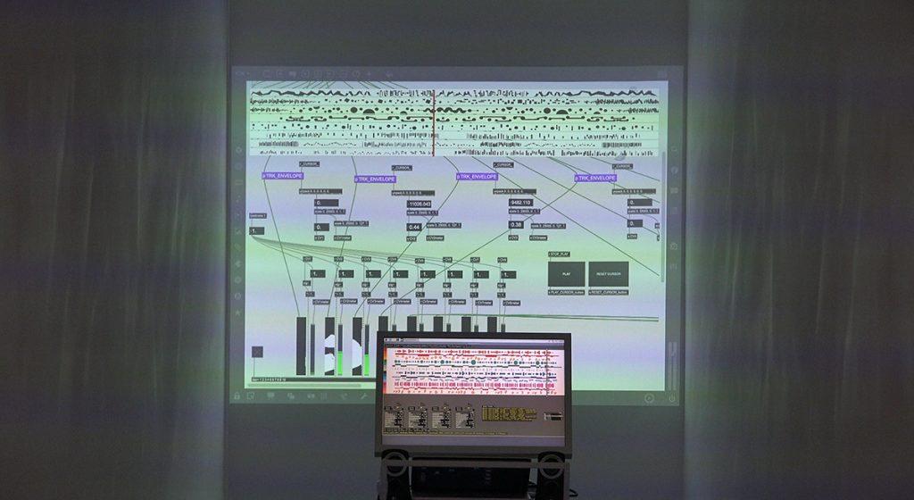 Graphic Score Installation exposed @ IOMO Galery