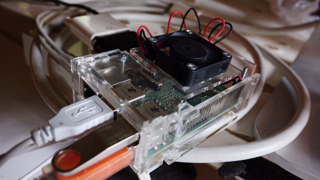 mini computer linux Raspberry PI3